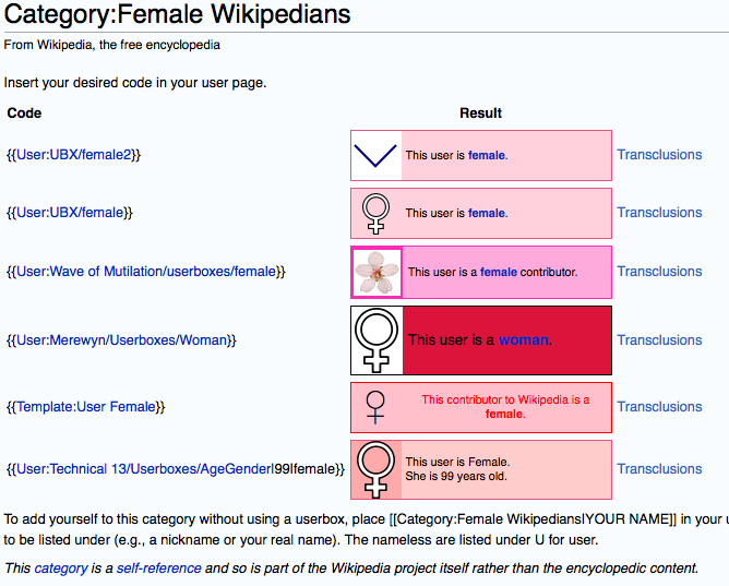 Who speaks for the women of Wikipedia? Not the women of Wikipedia.