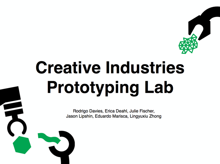 Creative Industries Prototyping Lab at HASTAC 2014