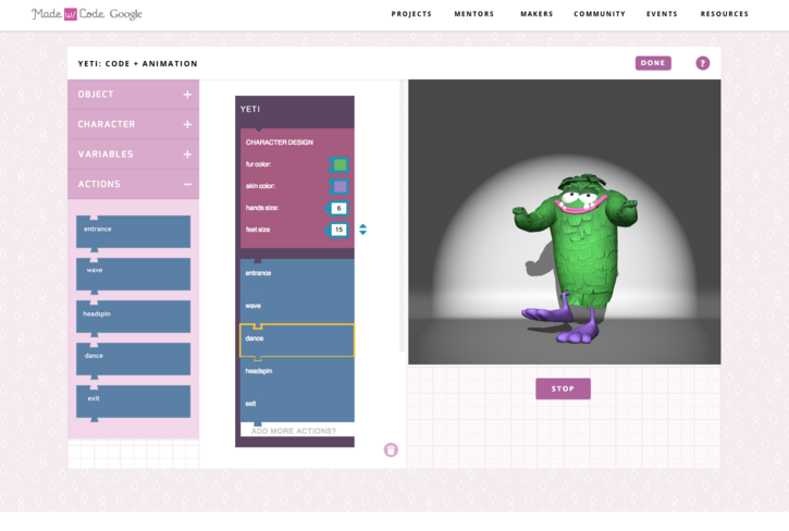 Coding Monsters for Halloween