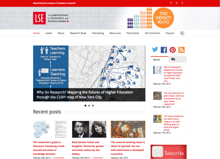 Futures Initiative Research featured on London School of Economics Social Science Impact Blog