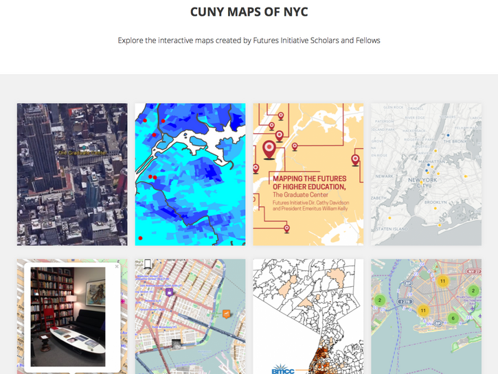 CUNY Maps of NYC