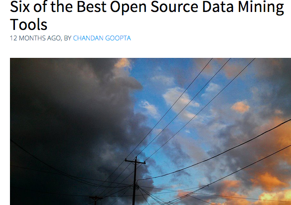 Open Source Data-Mining Tools