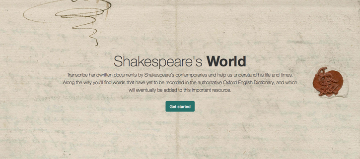 Launch of Shakespeare's World