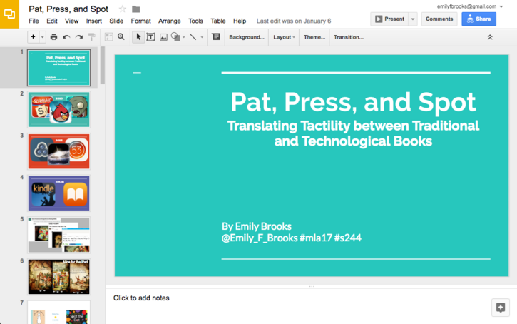 why i use google slides now | hastac, Presentation templates