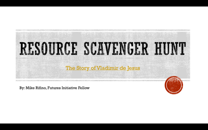 Group-based Scavenger Hunt Activity: A Reflection