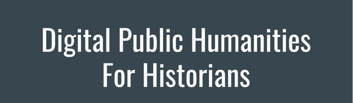 OAH18: Digital Public Humanities for Historians
