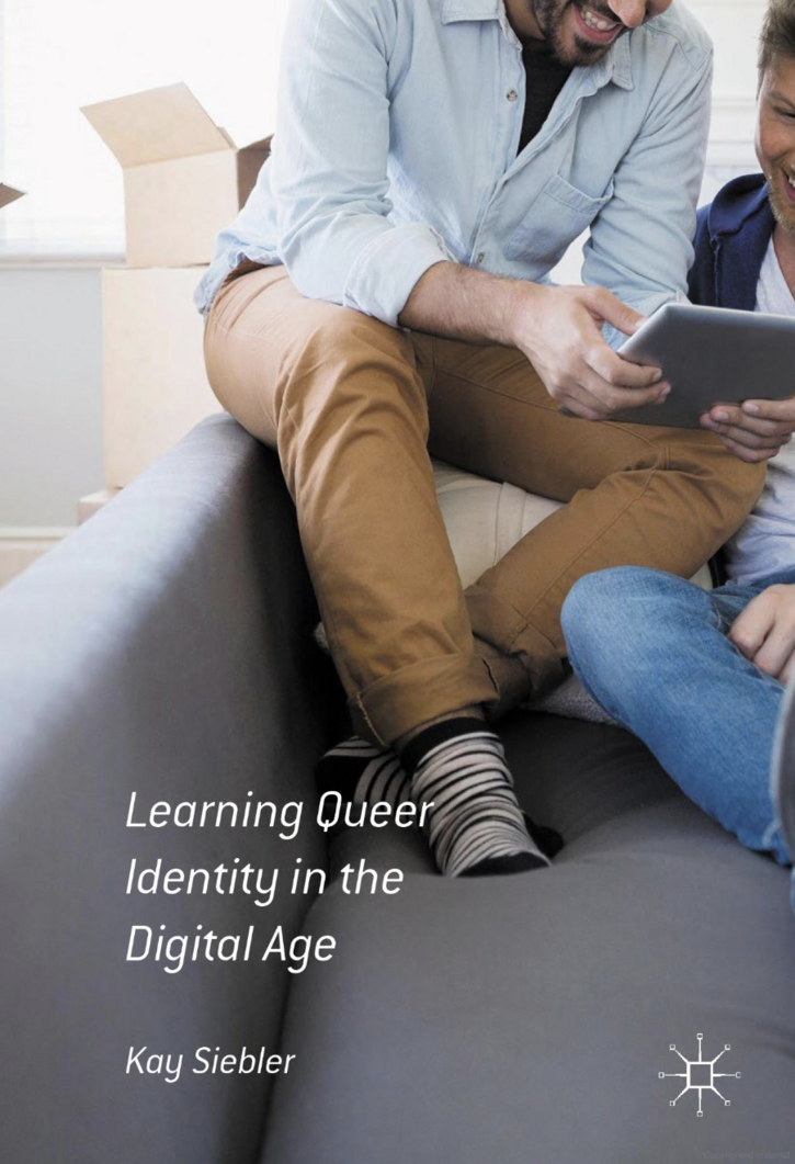 Book cover for Learning Queer Identity in the Digital Age
