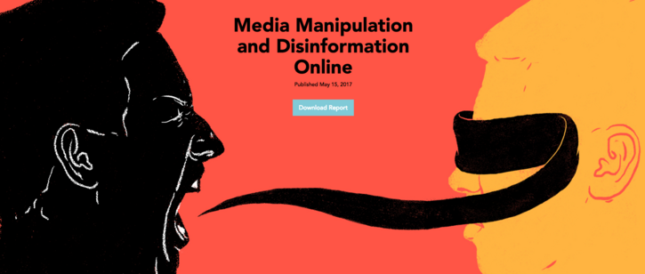 Important New Report on Media Manipulation and Disinformation Online
