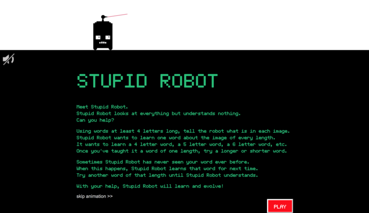 Crowdsourcing - the Not So Stupid Bot