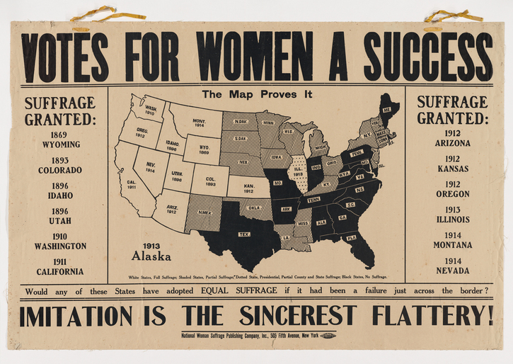 Mellon Foundation Grant to Radcliffe's Schlesinger Library Will Catalyze  New Scholarship on American Women's Suffrage and the Still-Unrealized  Promise of Female Citizenship | HASTAC