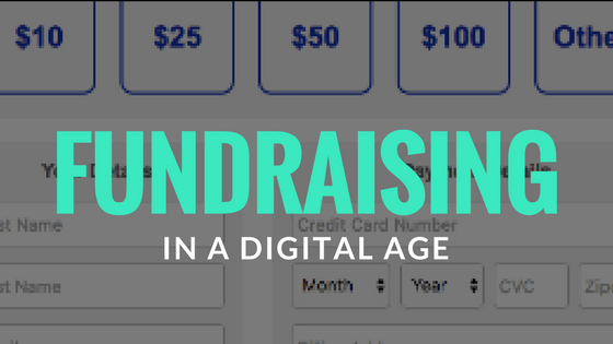 Fundraising in a Digital Age