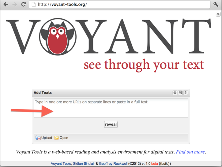Exploration of Voyant Tools