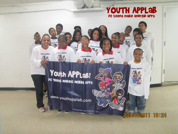 First Full Year of Youth APPLab Now Complete!  The result? A HUGE SUCCESS!!!