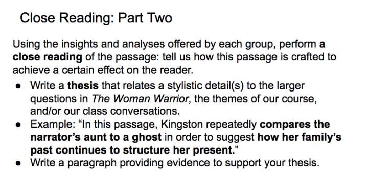 Collaborative Close Reading | HASTAC