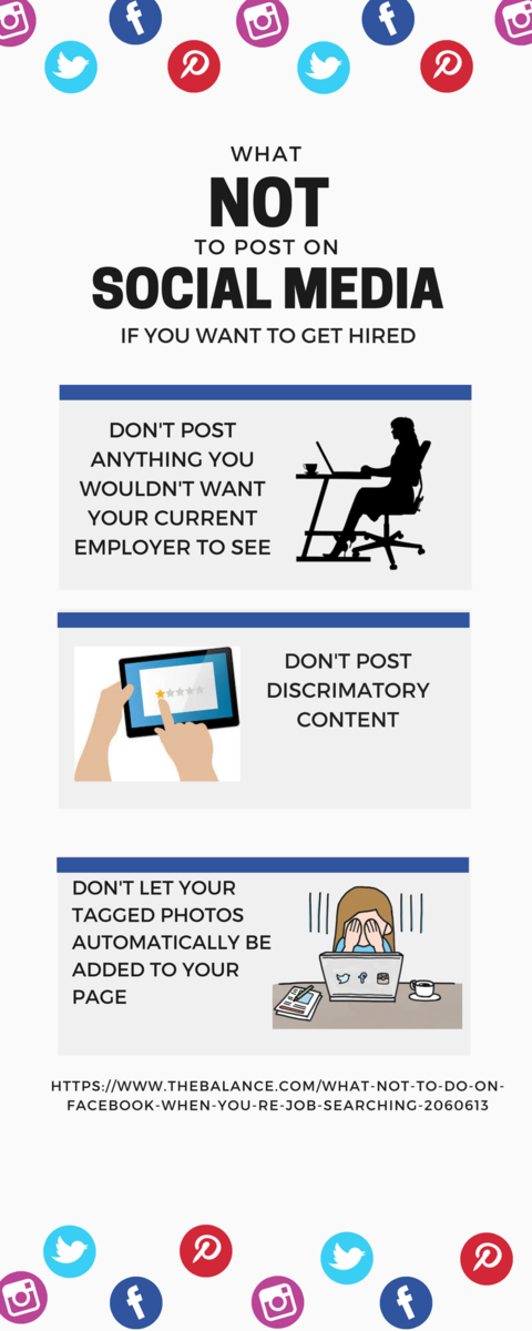 why do employers look at social media