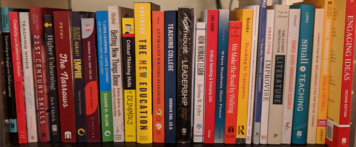 What's on Our Progressive Pedagogy Bookshelf