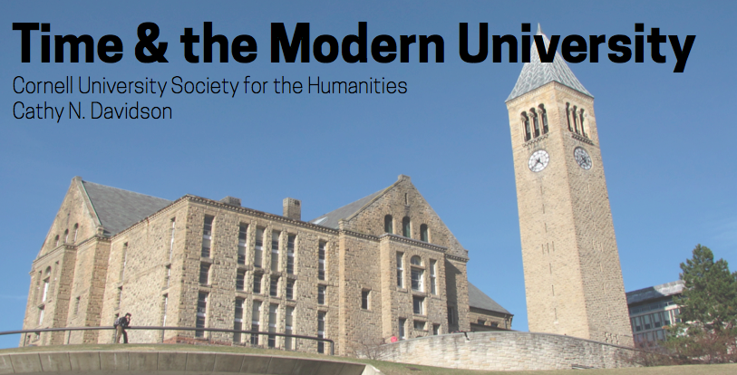 Time and the Modern University