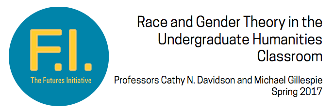 Race and Gender Theory in the Undergraduate Humanities Classroom