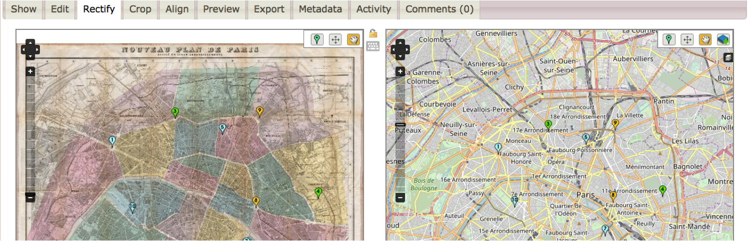 Mapping and Geocoding, Part 2: Map Warper and ArcGIS | HASTAC on