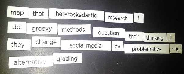 map that heteroskedastic research! do groovy methods question their thinking? they change socialmedia by problematizing alternative grading