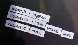 research together collections make writing learn connected maker