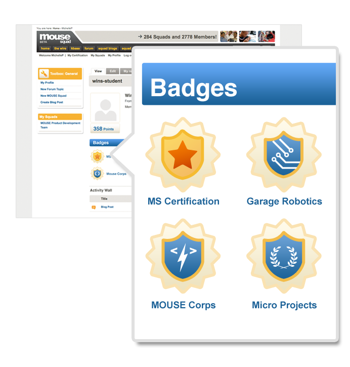 Project Q&A With: MOUSE Wins! Badge-based Achievement System for ...